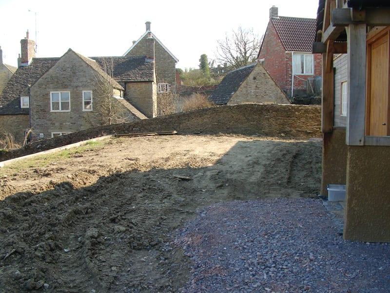Before: Front garden